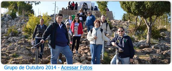 Grupo de Peregrinos Brasileiros em Medjugorje 2014